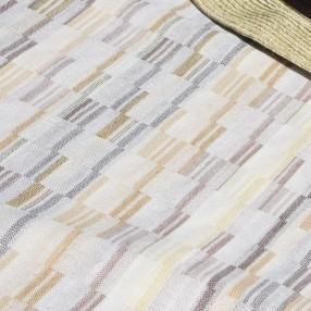 VERT OLIVE ORANGE  fabriqué et tissé en France pur coton