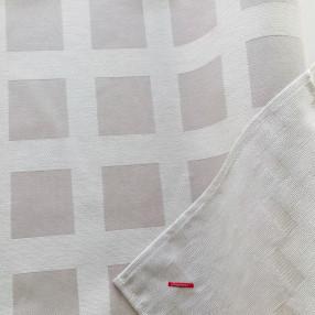 BEIGE  fabriqué et tissé en France pur coton