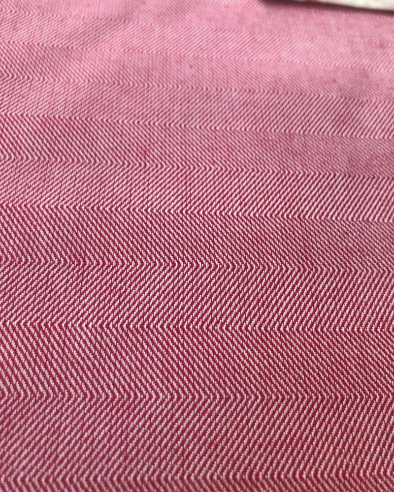 FRAISE  fabriqué et tissé en France pur coton