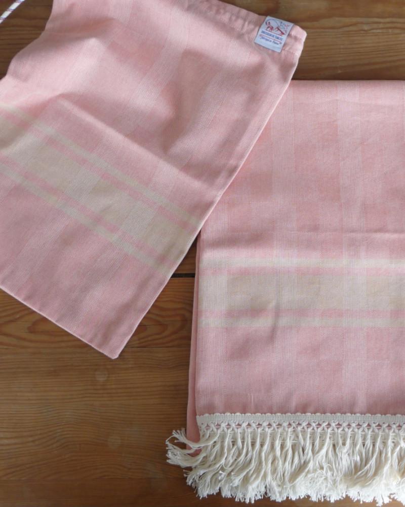 MANDARINE/CARAMEL made in france coton d'Égypte