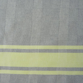 BLEU NUIT ET CITRON made in france coton d'Égypte