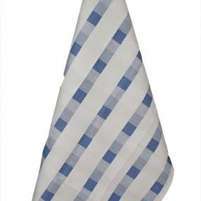 Détail torchon bleu