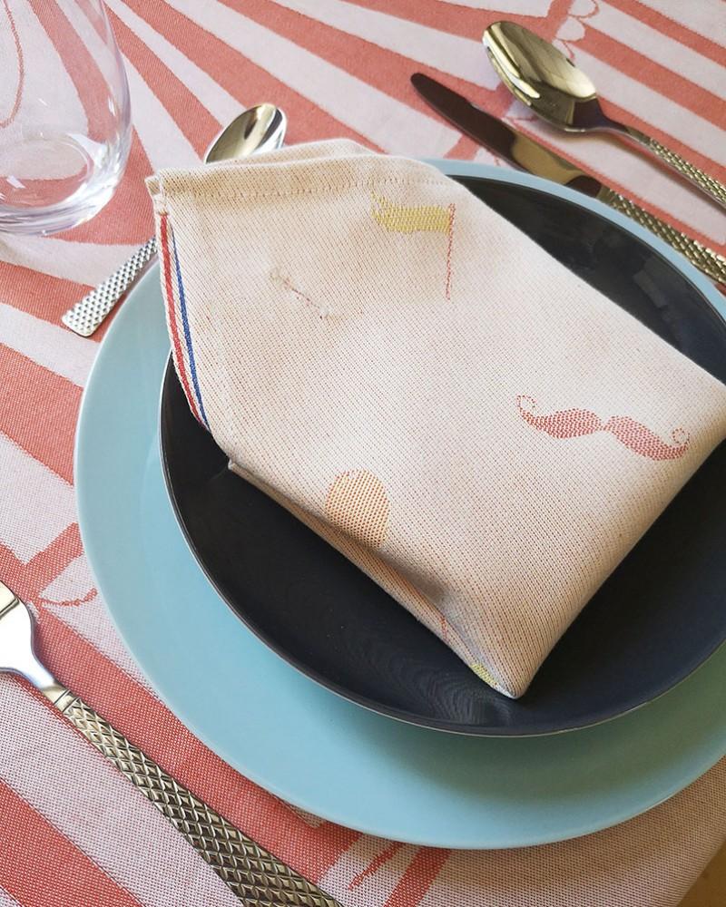 Serviette De Table 100 Made In France Et 100 Coton